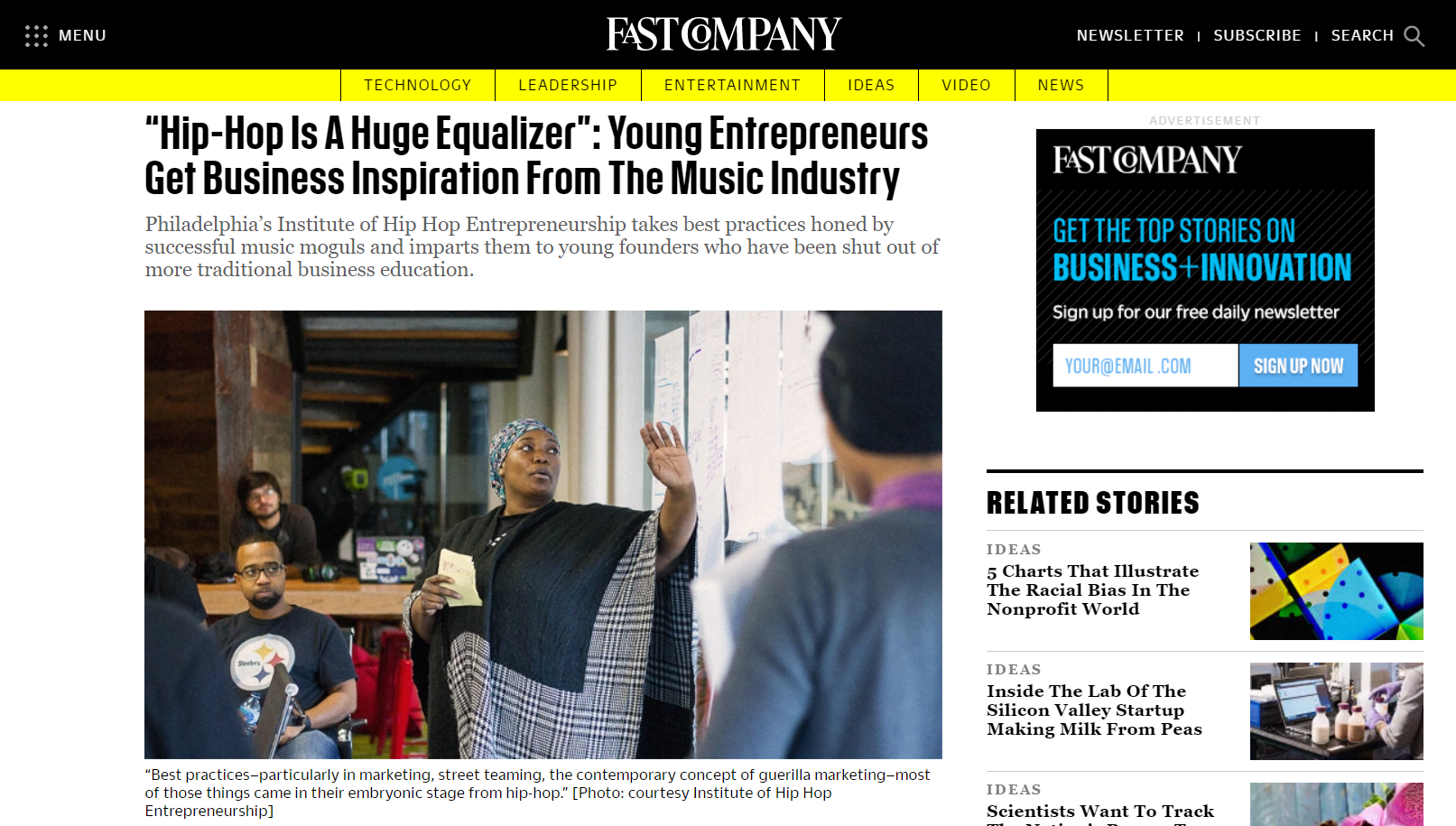 fastcompany press